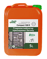 Пластификатор ,противоморозная добавка для бетона Compact 100R, 5л