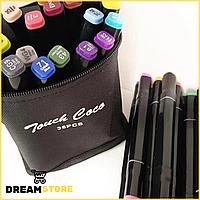 Набор маркеров Touch для скетчинга 36шт для начинающих художников