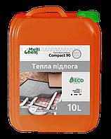 """Пластифікатор """"Тепла підлога"""" Compact 90 Euro для бетону, стяжки, 10 л"""