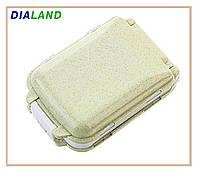Таблетница PILL BOX (органайзер для таблеток) оливковая, фото 1