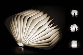 Светильник Книга со страницами