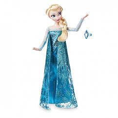 Кукла Elsa Classic Doll with Ring Disney Принцесса Эльза Холодное сердце  Оригинал
