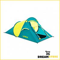 Палатка двухместная, с навесом, водонепроницаемая для рыбалки отдыха туризма