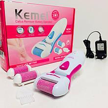 Электрическая роликовая пилка c фрезером Kemei Km-2502/ 7579-1 (32 шт)