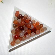 Халцедон , шарики 6 мм, 25 шт.