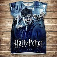 Платье-туника с 3D принтом Гарри Поттер Перед боем взрослые и размер
