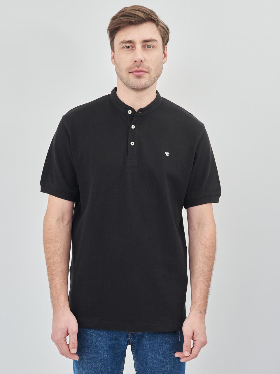 Поло мужское Zara черное (9240 352 800)