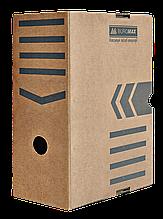 Бокс для архивации документов 255х150х355 коричневый ВМ.3262-34 20шт/уп