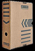 Бокс для архивации документов 255х80х355 коричневый ВМ.3260-34 20шт/уп