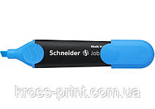 Маркер текстовый Schneider Job 150 S1503 синий 10шт/уп