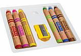 """Олівці кольорові """"Multi-Talented 3 в 1"""", 6 кольорів з чинкою, круглі, фото 2"""