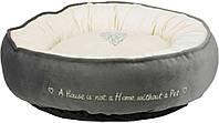 37489 Trixie Pets Home Лежак серо-кремовый, 50 см