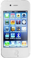 Телефон IPhone 4 F8 в белом цвете.Заводская зборка.Высокое качество, фото 1