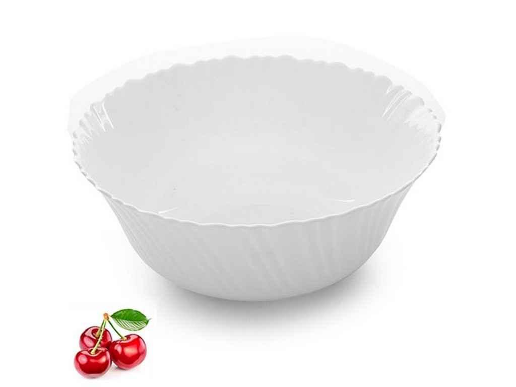 "Набор салатников 20 см стеклокерамика 6 штук Белый MS-2659 ""STENSON"""