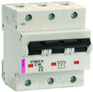 Автоматические выключатели ETIMAT 10AC 100А 3p