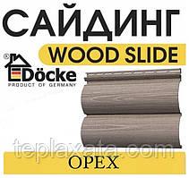 ОПТ - DOCKE LUX Wood Slide, D4,7T горіх (0,864 м2) Сайдинг, блок-хаус під дерево