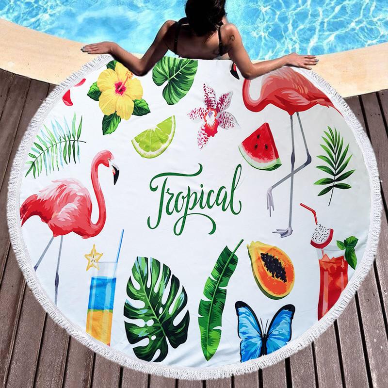 Модный пляжный коврик Shamrock - №6070