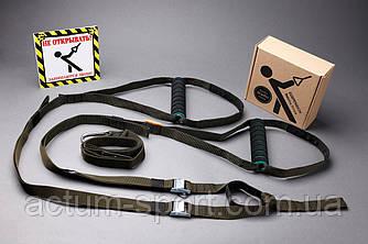 TRX Петли тренировочные (подвесные ремни) олива