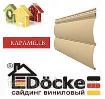Панель стінова вінілова Блок-хаус DOCKE Карамель (0,864 м2)