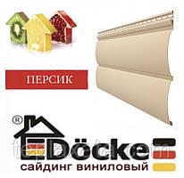 Панель стінова вінілова Блок-хаус DOCKE Персик (0,864 м2)