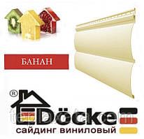 ОПТ - Панель стінова вінілова Блок-хаус DOCKE Банан (0,864 м2)