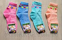 """Шкарпетки дитячі з сердечками на дівчинку розмір 18-22 (12 шт/уп) (різном.цв)""""MARI"""" купити від прямого постачальника"""