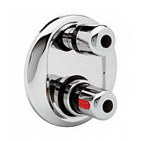 Змішувач термостатичний прихованого монтажу для ванни Bianchi Termostatici INDTRM2029CRM на три споживача