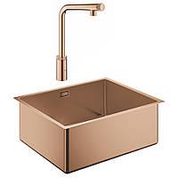 Набір Grohe мийка кухонна K700 31574DL0 + змішувач Minta Smartcontrol 31613DA0