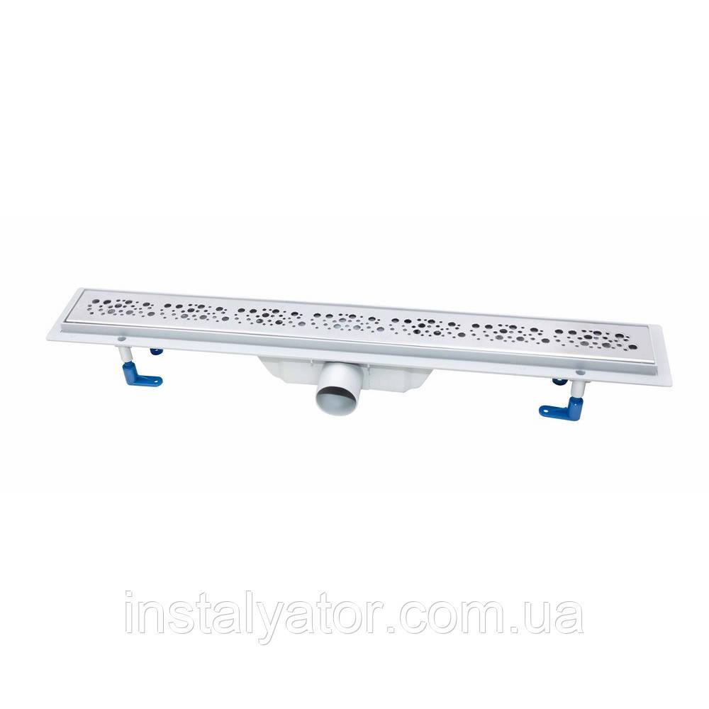Линейный трап с сухим затвором Q-tap FC304-700  700 мм