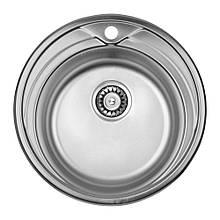 Кухонная мойка ULA 7109 U Micro Decor (ULA7109DEC08)