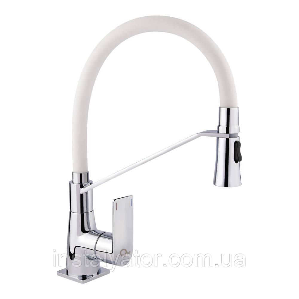 Змішувач для кухонного миття Q-tap Estet CRW 007F