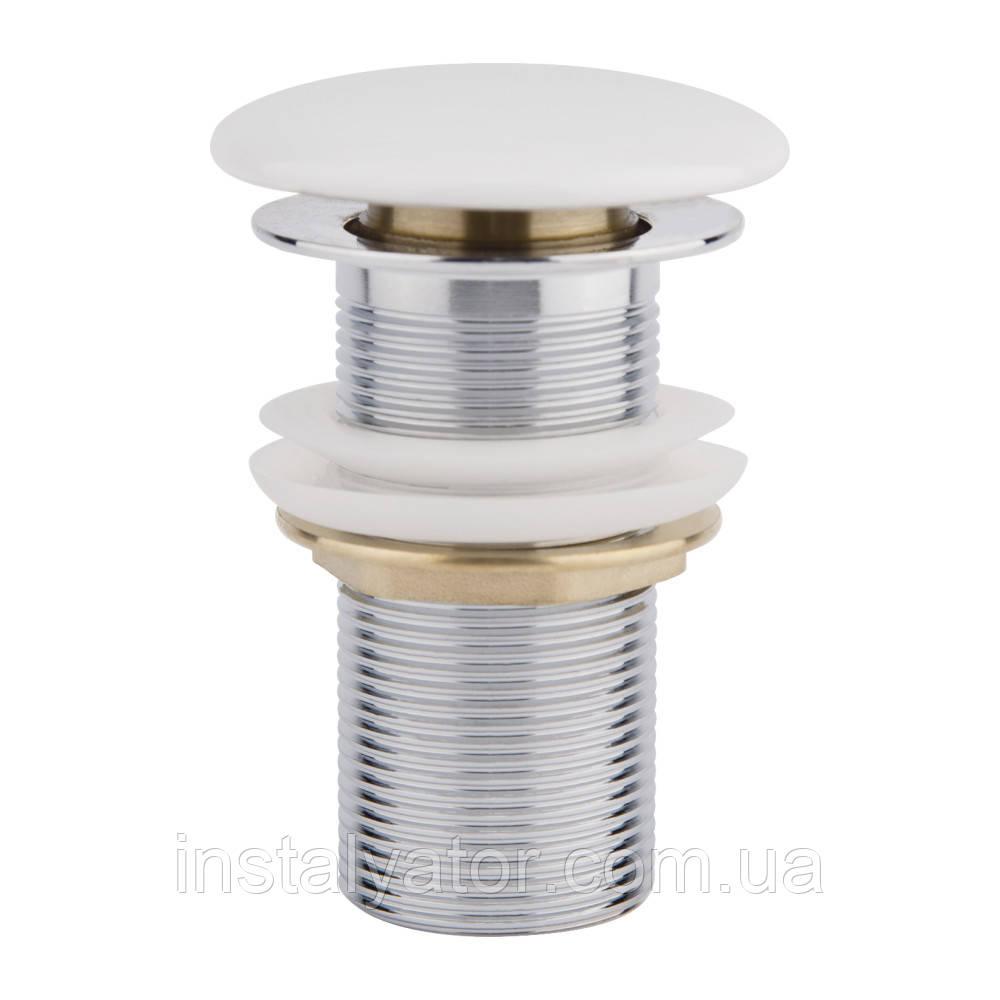 Донний клапан Q-tap F008 WHI Pop-up без переливу