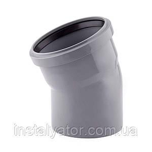 Колено PPR TA Sewage 110х110, 30°