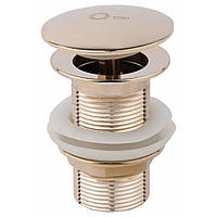 Донний клапан для раковини Q-tap Liberty ORO L03