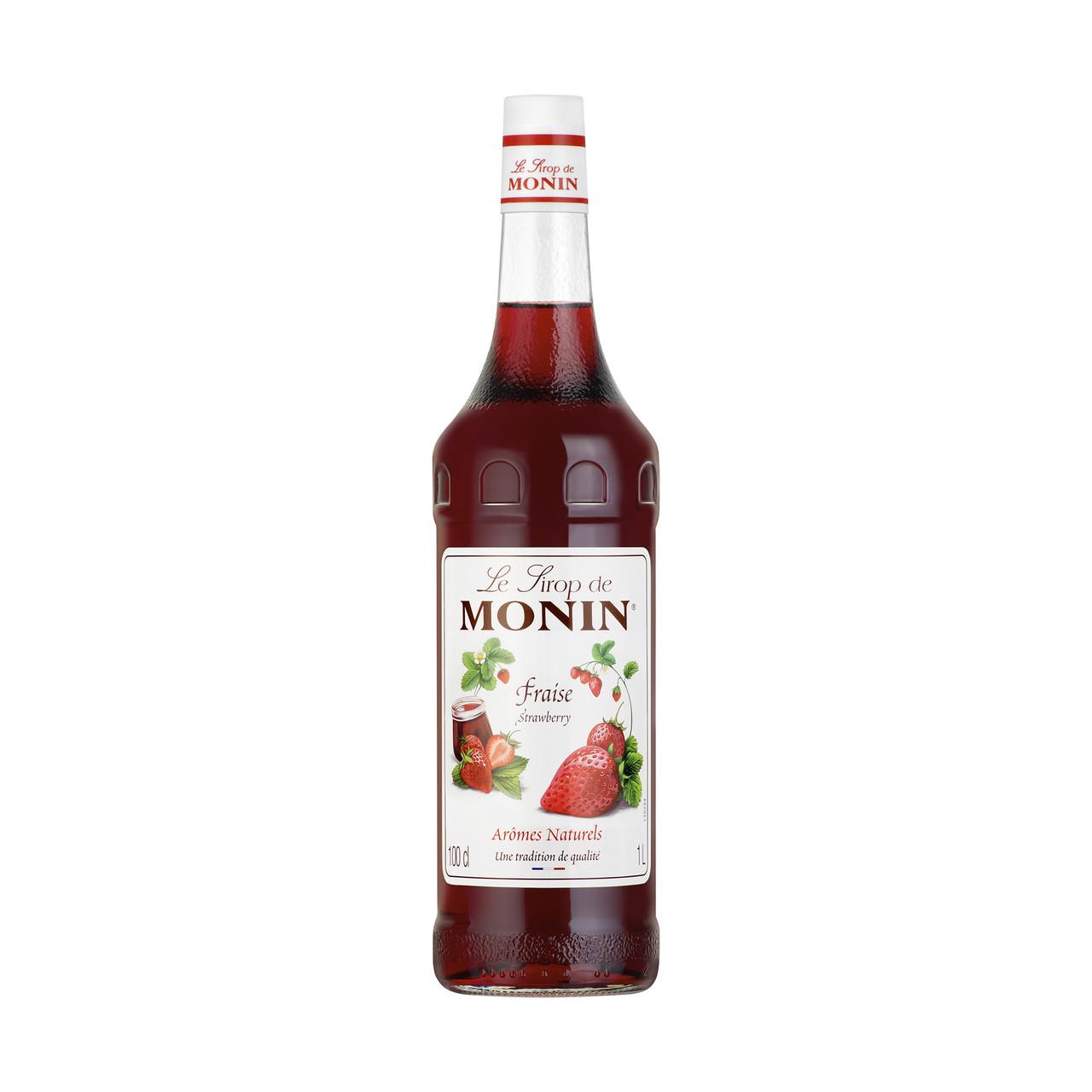 Сироп Monin зі смаком Полуниця 1 л