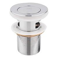 Донний клапан для раковини Lidz (CRM)-47 00 004 00 з переливом