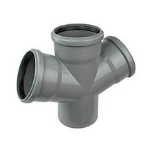 Крестовина PPR канализационная Ostendorf HT-Safe 110х50х110х50, 67°