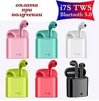 Беспроводные вакуумные Bluetooth наушники СТЕРЕО гарнитура TWS Apple AirPods Pro inPods i7s mini s 1:1 8