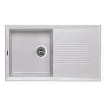 Кухонна мийка Lidz 860х500/240 GRA-09 (LIDZGRA09860500240)