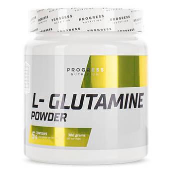 Л- глютамин, Progress Nutrition L-Glutamine 300 грамм