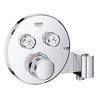Зовнішня частина термостатичного змішувача для душу Grohe Grohtherm SmartControl 29120000 на два споживача