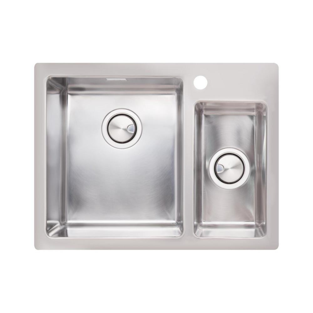 Кухонна мийка Apell Linear Plus LNP3418FBC Brushed