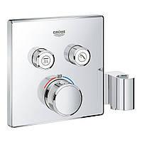 Зовнішня частина термостатичного змішувача для душу Grohe Grohtherm SmartControl 29125000 на два споживача