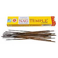 Temple (Храм) Golden Nag Vijayshree 15 gr.-натуральные пыльцовые благовония