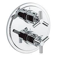 Зовнішня частина термостатичного змішувача для душу Grohe Atrio 19394000 на два споживача