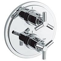 Зовнішня частина термостатичного змішувача для душу Grohe Atrio 19395000 на два споживача