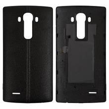 Задняя крышка LG H810 G4, H811, H812, H815, H818, F500, LS991, VS986 черная, Leather Black Оригинал Китай