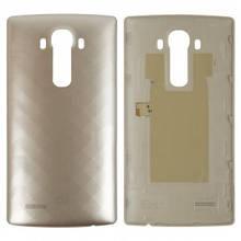 Задняя крышка LG H810 G4, H811, H812, H815, H818, F500, LS991, VS986 золотистая Оригинал Китай