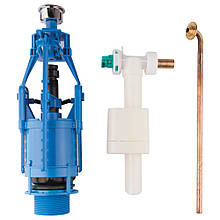 Зливний/наливний механізм для унітазу Azzurra Glaze B19002F40