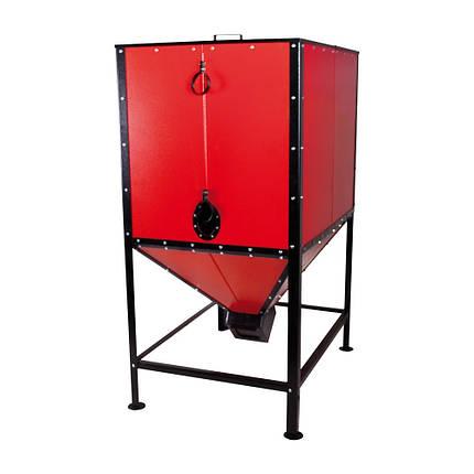 Бункер для твердопаливного котла Thermo Alliance Vulcan SF 1,0 куб. м., фото 2